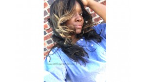 """24"""" Raw Indian Temple Hair (Highlights) 
