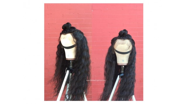 Raw Indian Wavy Frontal Unit (5thAveCrown)